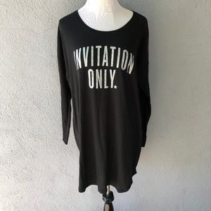 Victoria's Secret Glittery Night Gown Sleep Shirt